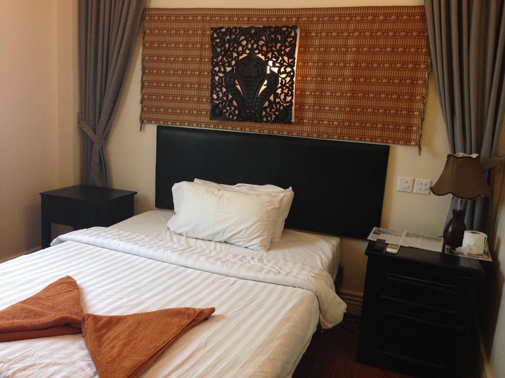 Naga Angkor Guesthouse Bed