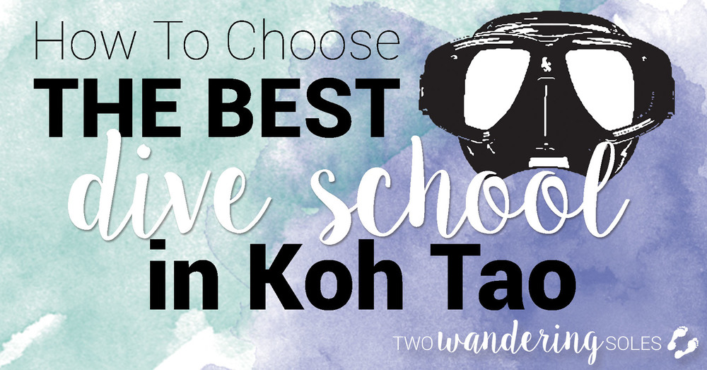 How to Choose the Best Dive School in Koh Tao