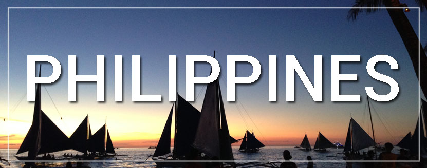 Philippines Sailboats Sunset