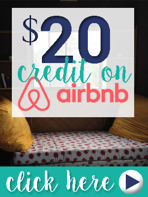 AirBnB $25 Credit Discount