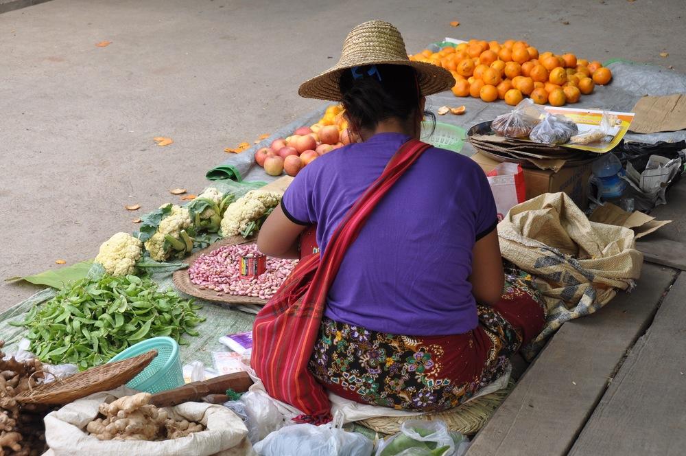 Myanmar Market Nyaung Shwe