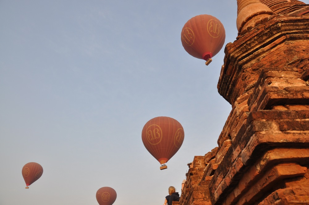 Myanmar Bagan Balloons