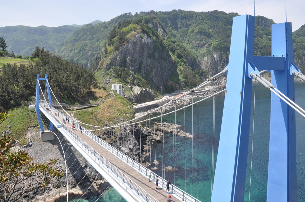Ulleungdo Bridge Korea