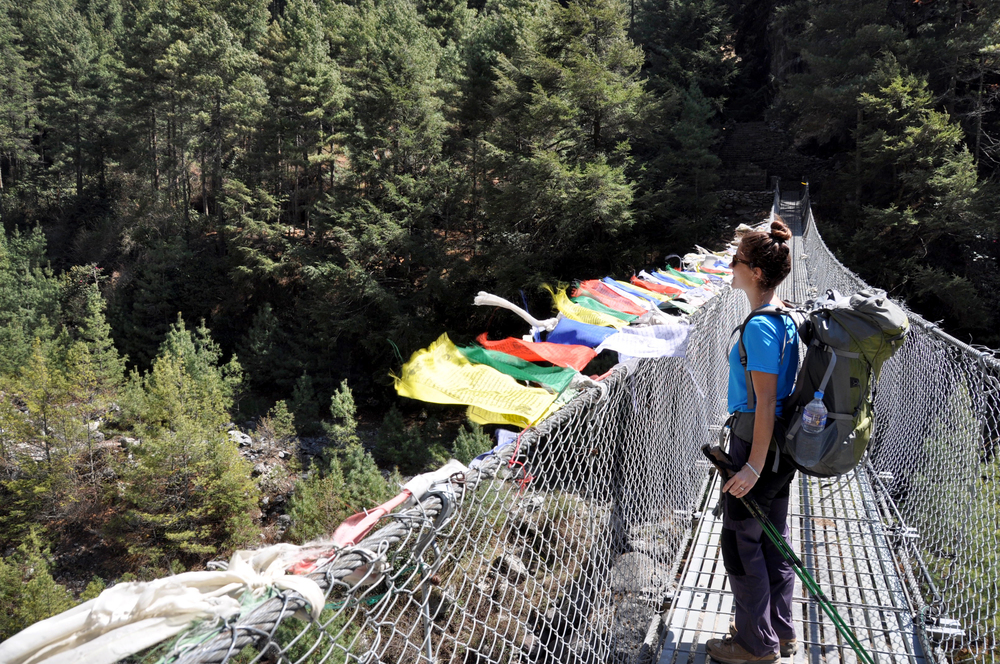 Everest Base Camp Suspension Bridge