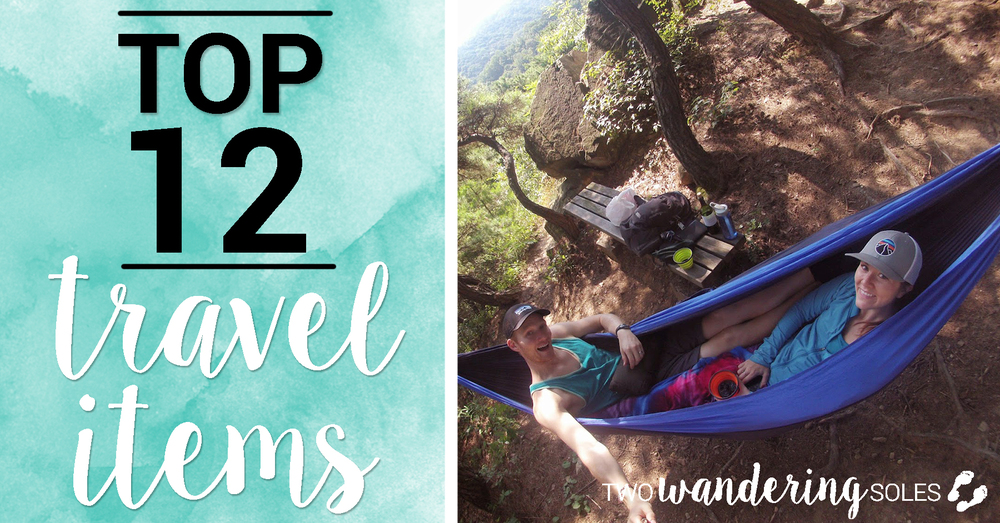 Top 12 Travel Items
