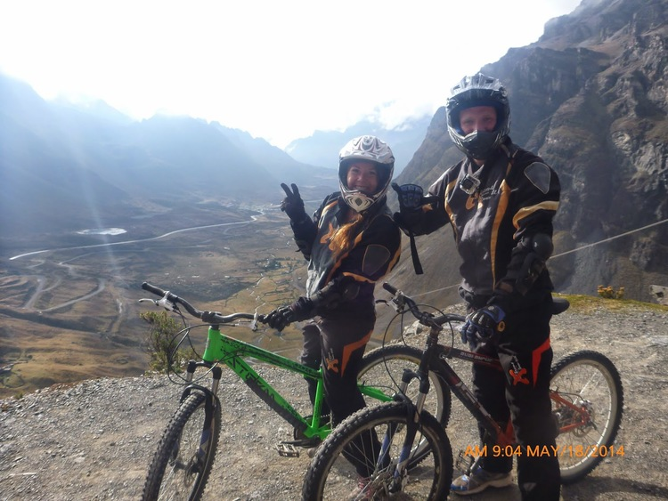 Death Road Biking Bolivia
