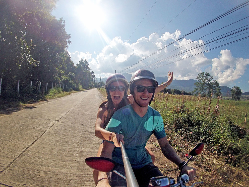 Motorbike Pai Thailand