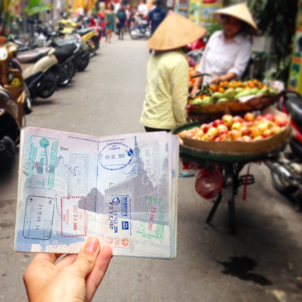 Passport in Vietnam