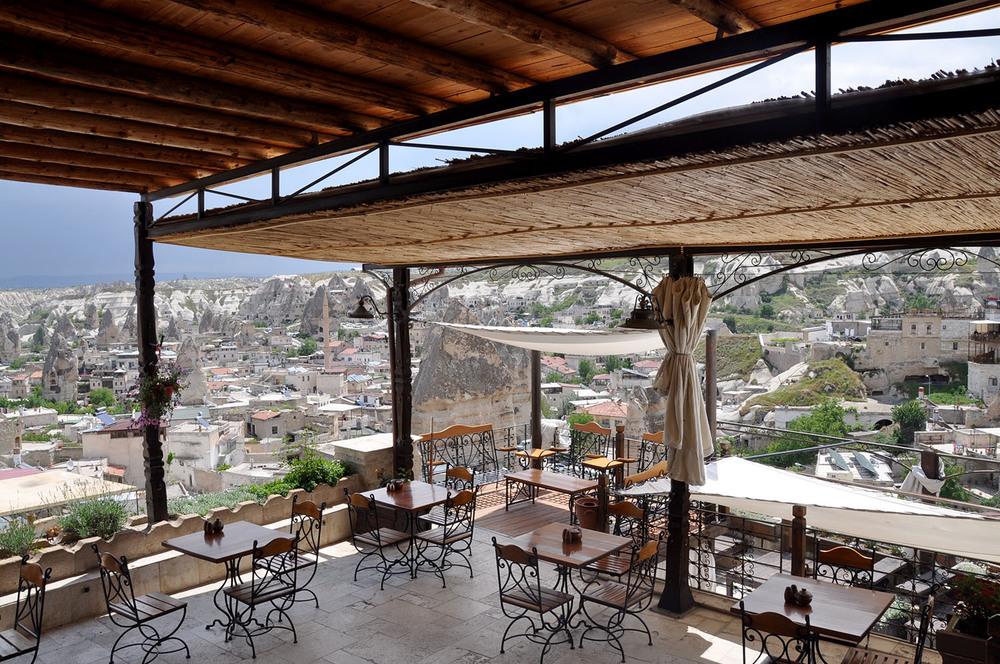 Terrace Dining Kelebek Special Cave Hotel