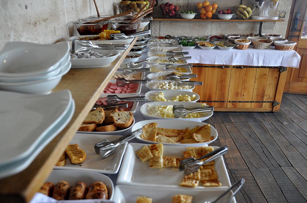 Kelebek Special Cave Hotel Breakfast buffet