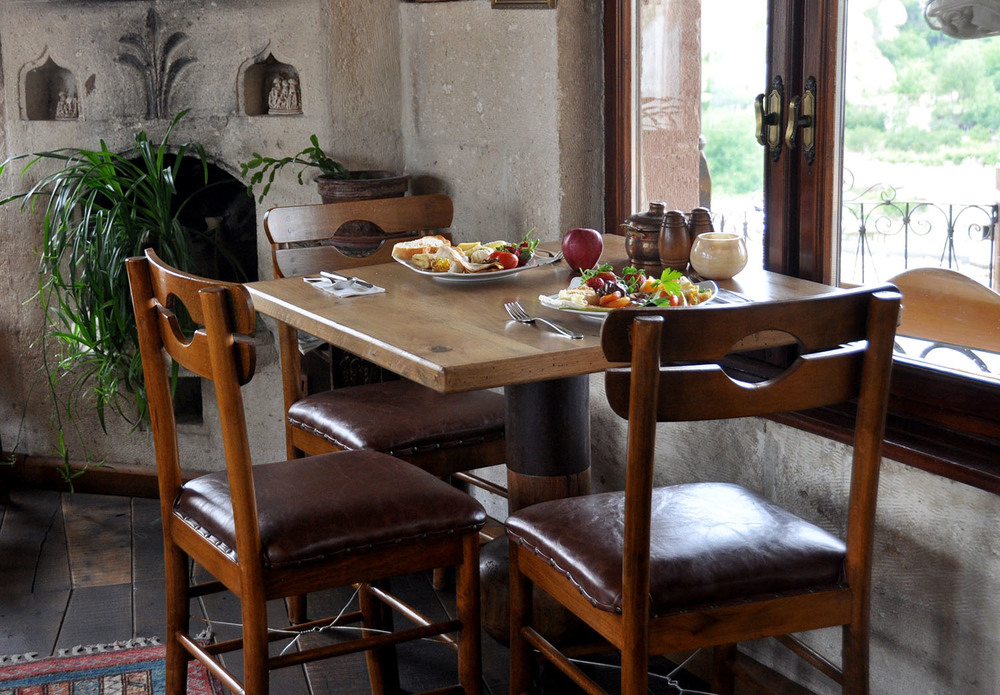 Kelebek Special Cave Hotel Breakfast Table