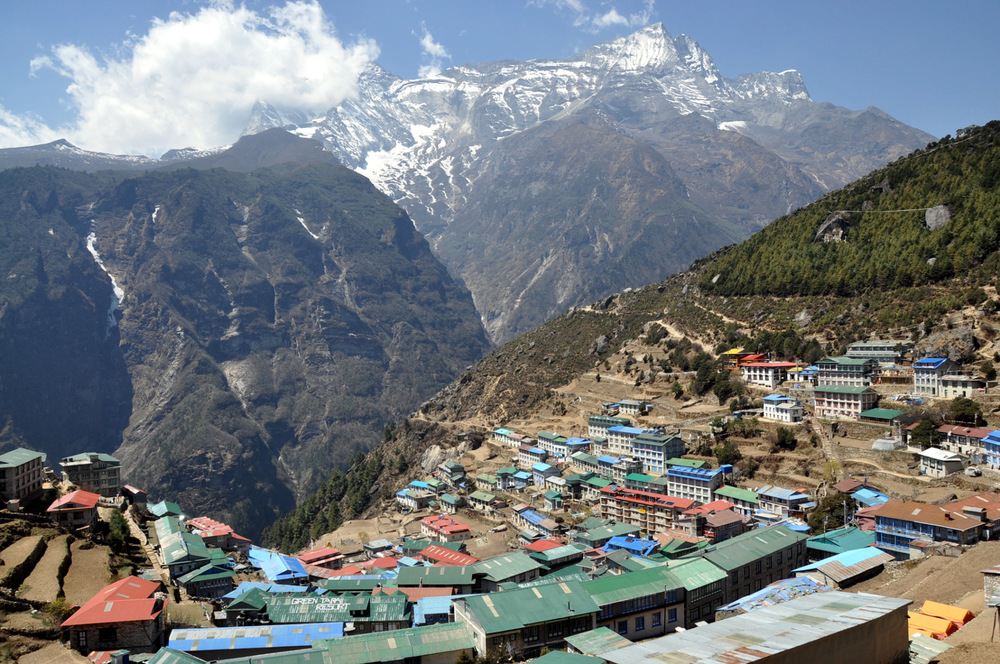 Namche Bazaar Perfect Everest Base Camp Trekking Itinerary