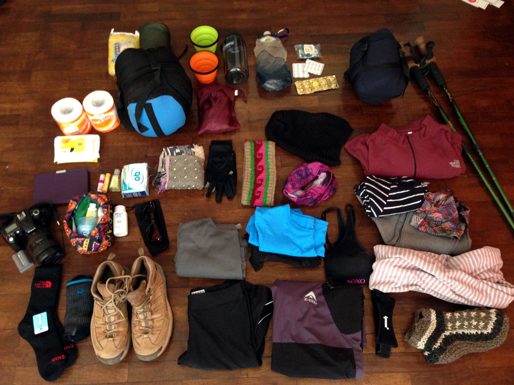 Clothes Complete Everest Base Camp Packing List