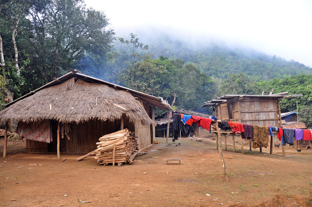 Remote Hill Tribe Trek in Laos White Elephant Adventures