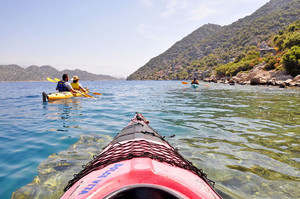 Kas kayaking trip