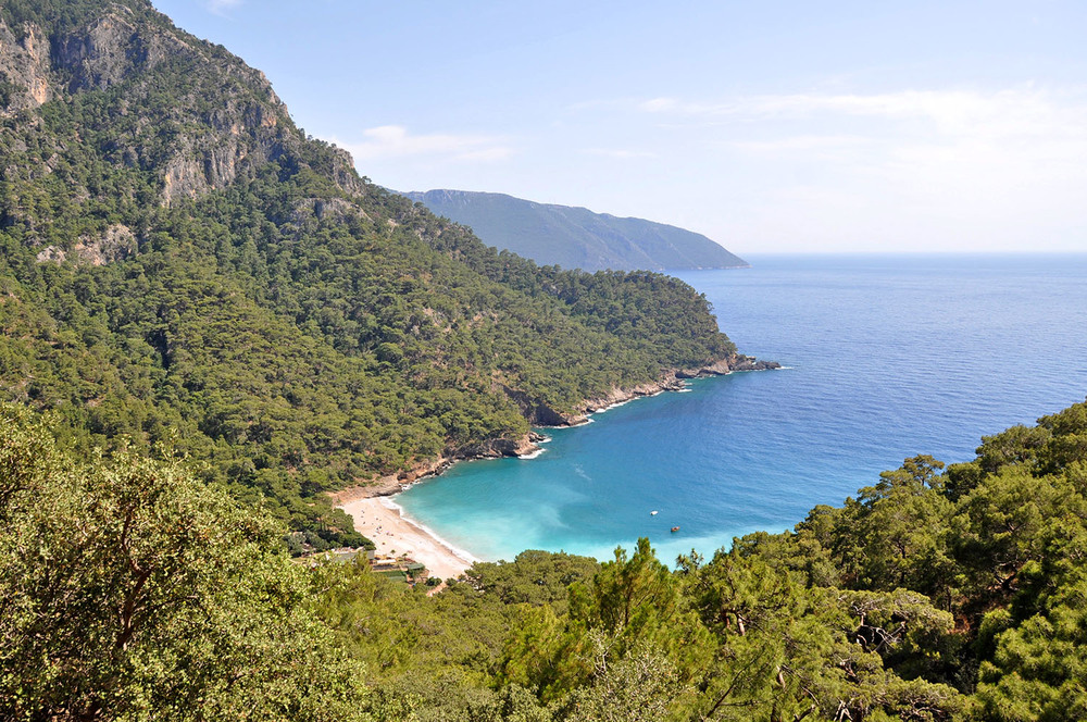 Kabak Beach is utter perfection. Reach it by hiking into this hidden valley that you may never leave.