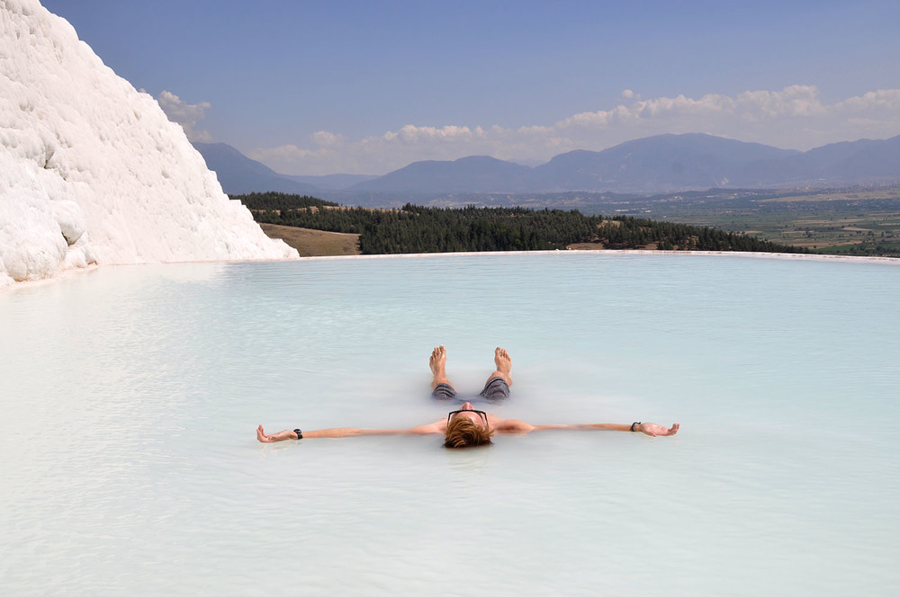 Pamukkale Turkey hot springs