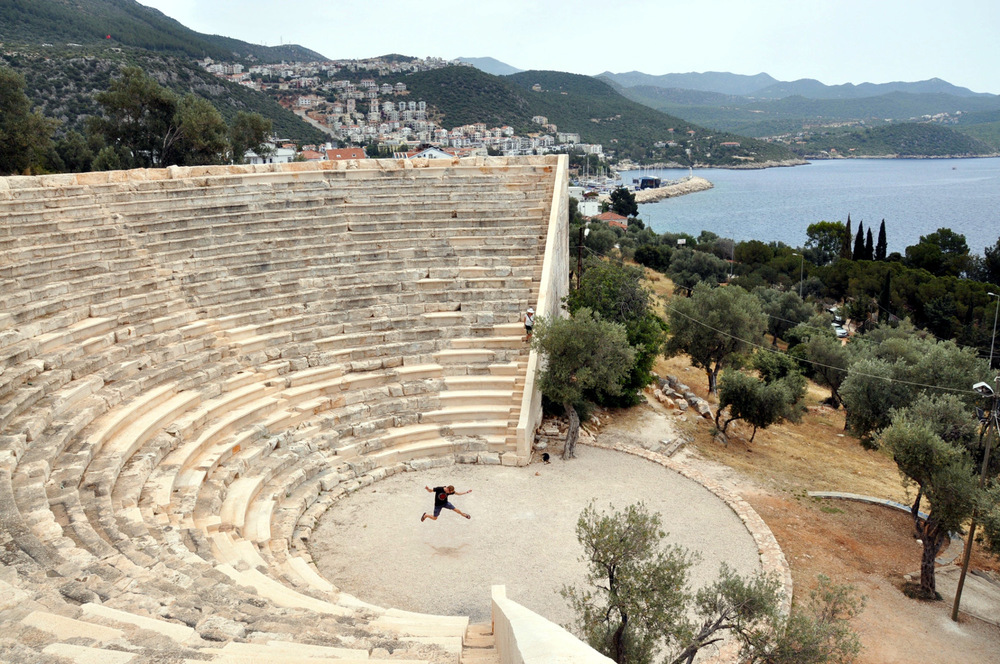 Kas Ampitheater ruins
