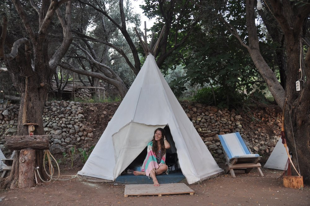 Teepee in Turkey