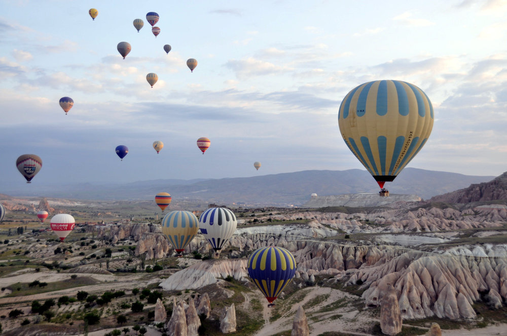 Adventure Activities Hot Air Ballon Ride Turkey