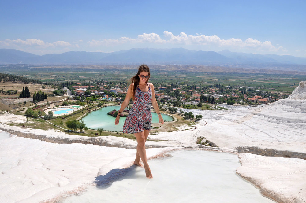 Pamukkale Hot Springs Weird Nature