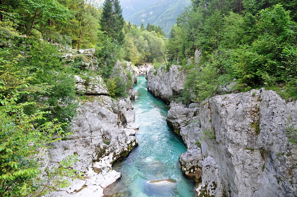 Soca River Valley Best Scenery Slovenia