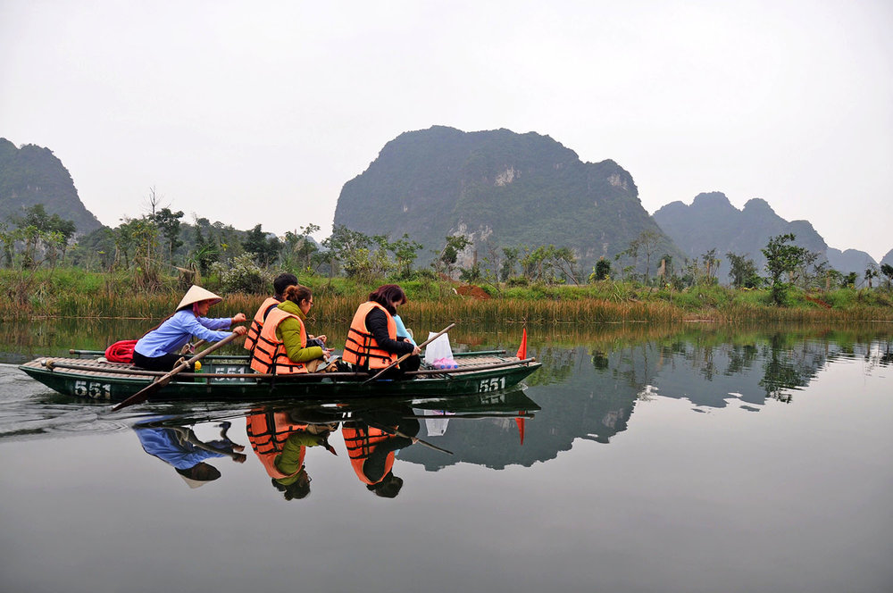 Off the Beaten Path Experience Trang An Vietnam