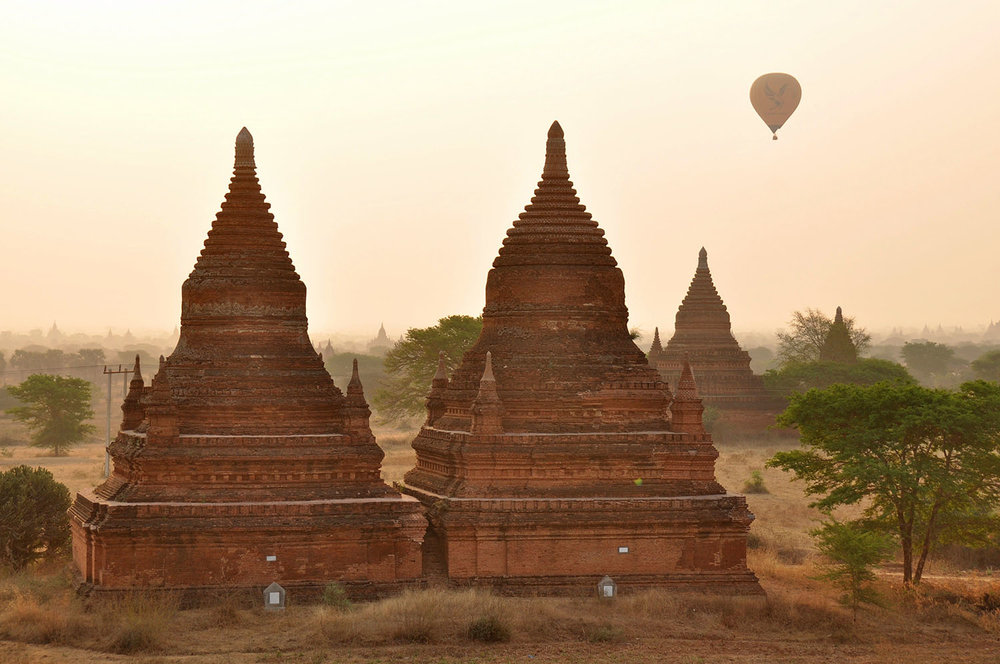 Bagan Temples best sunrise
