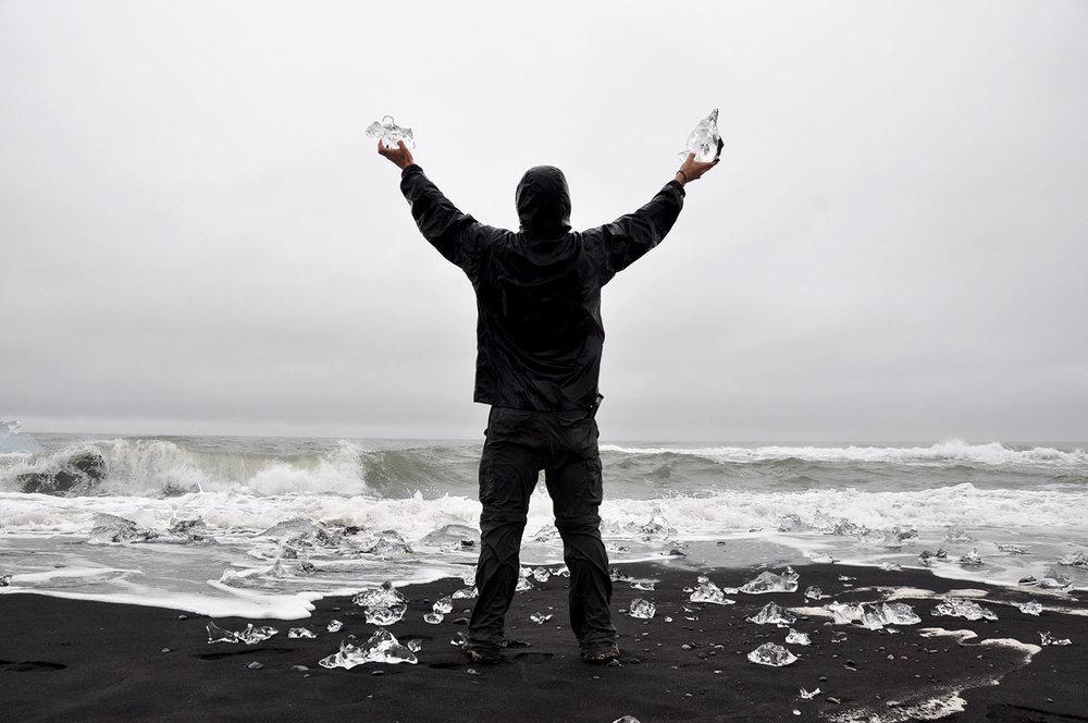 Jökulsárlón Ice Beach Iceland