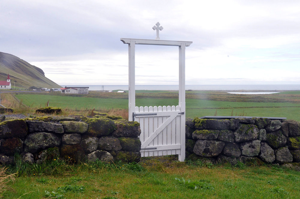 Cross Gate Iceland