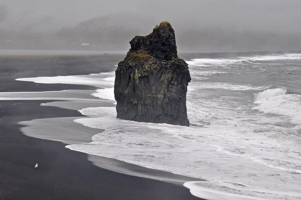 Dyrhólaey Black Sand Beach Iceland