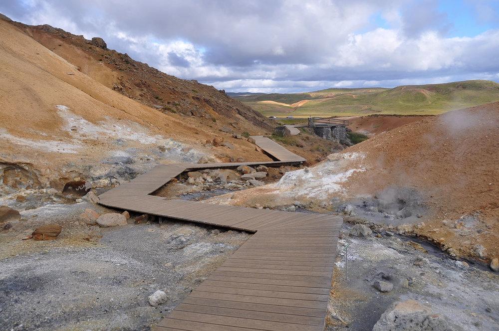 Seltún Geothermal Area Iceland