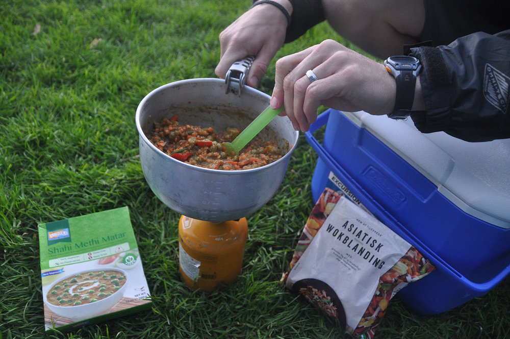 Cooking Iceland Camping Equipment