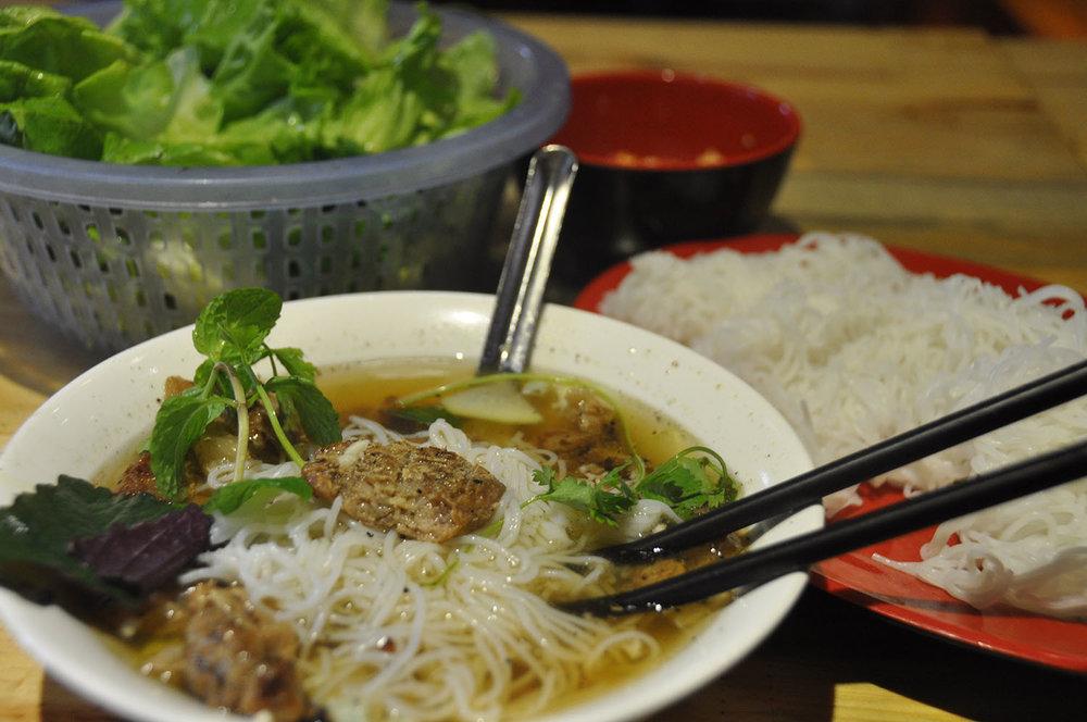 Bun Cha Hanoi Vietnam Itinerary