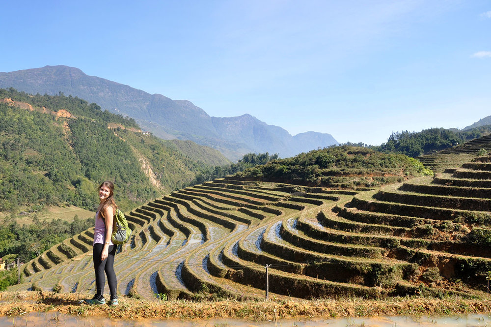 Rice Terraces Sapa Vietnam Itinerary