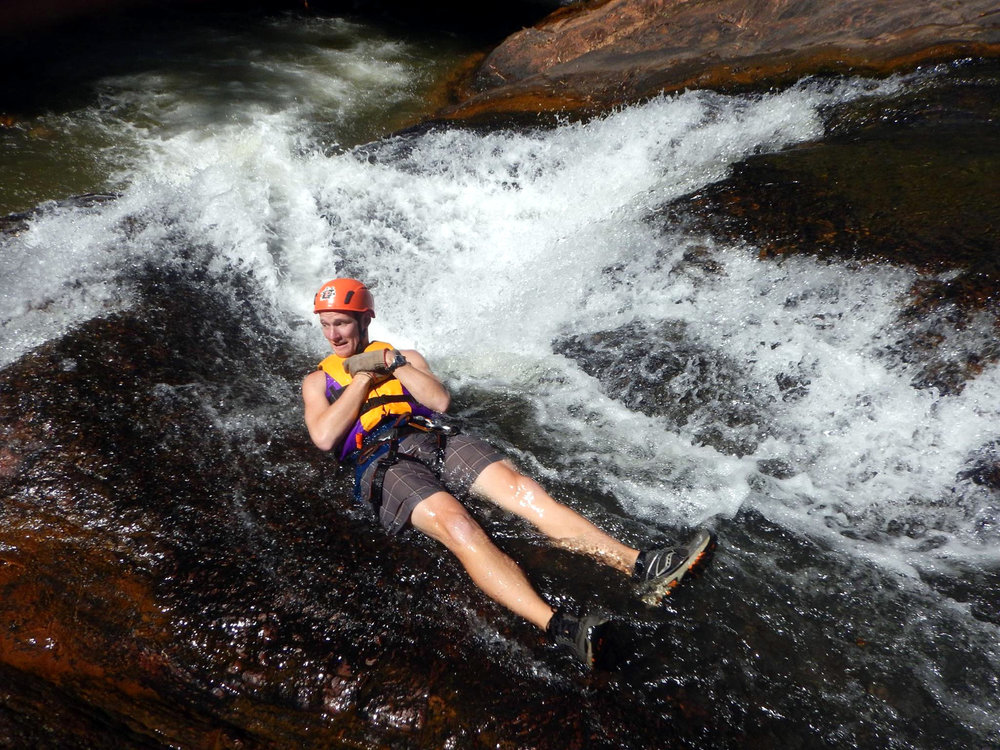 Canyoneering Waterfalls Da Lat Vietnam