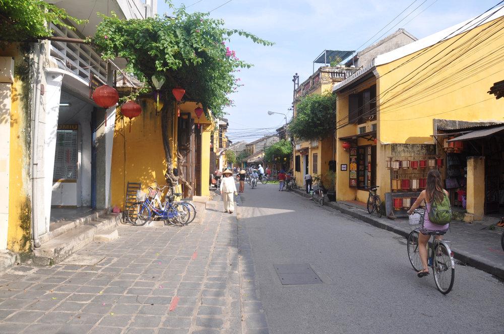 Hoi An Yellow Street Biking Vietnam Itinerary