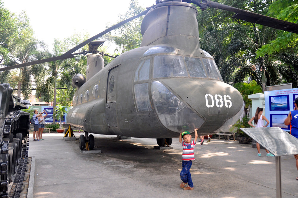 American War Helicopter Saigon Vietnam Itinerary