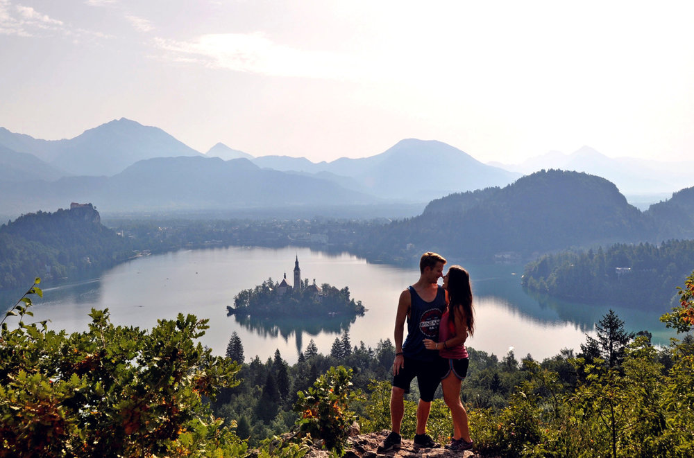 Lake Bled Traveling with a girl