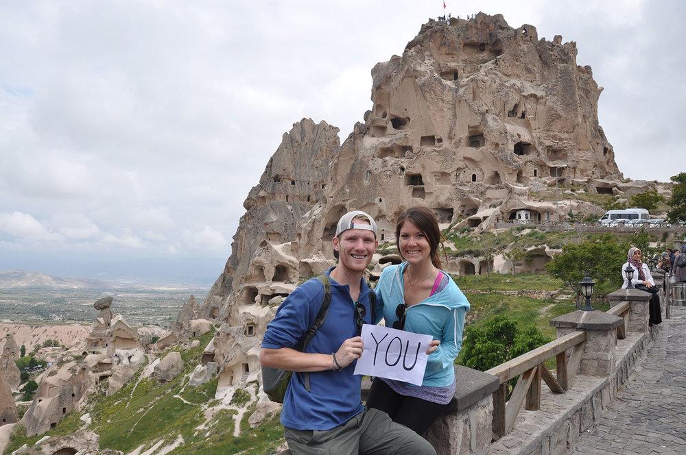 Cappadocia Turkey Thank You