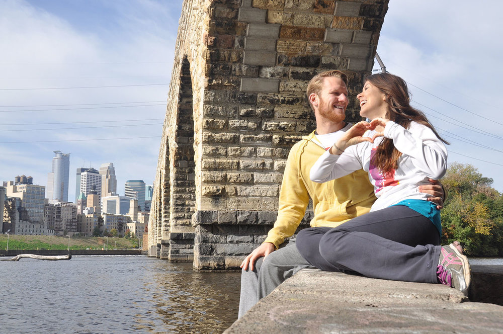 Minneapolis Stone Arch Bridge Thank You