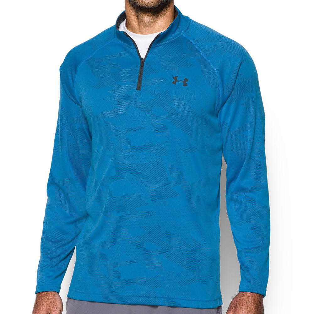 Quarter Zip Long Sleeve