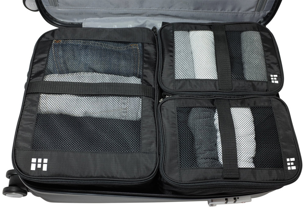 Zero Grid travel gear packing cubes