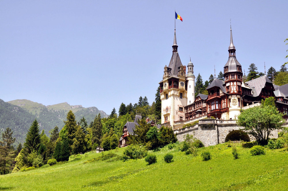 Peles Castle Brassov Romania Eastern Europe Highlights