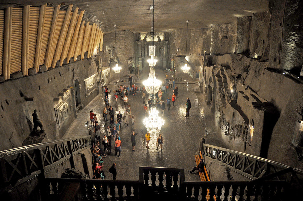 Salt Mines Krakow Eastern Europe Highlight