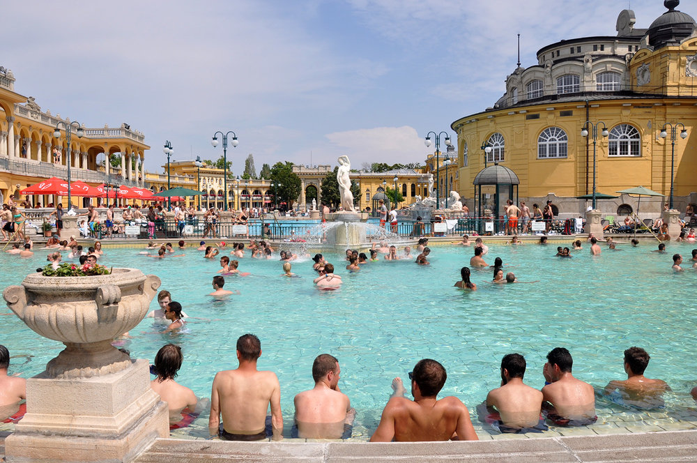 Eastern Europe Bucket List Széchenyi Thermal Baths