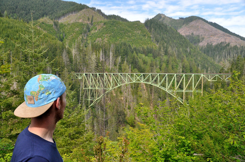Vance Creek Bridge Olympic Peninsula