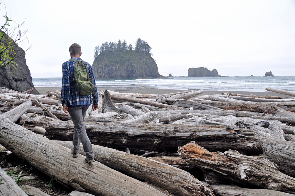 Second Beach Olympic Peninsula