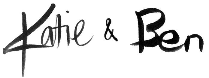 Katie & Ben Signature