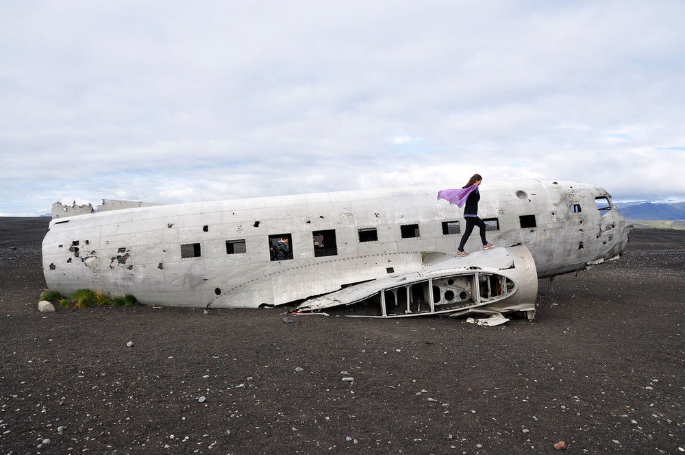 Iceland Airplane wreck